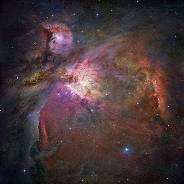 Nebuloasa din Orion este o nebuloasă de reflexie formată din două obiecte Messier: M42 (NGC1976) și M43 (NGC 1982) - foto: ro.wikipedia.org