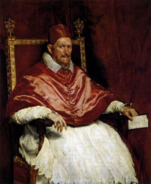 Papa Inocențiu al X-lea (Giovanni Battista Pamphilj sau Pamphili) (n. 6 mai 1574 Roma – d. 7 ianuarie 1655 Roma) a deținut funcția de papă între anii 1644-1655 - foto: ro.wikipedia.org