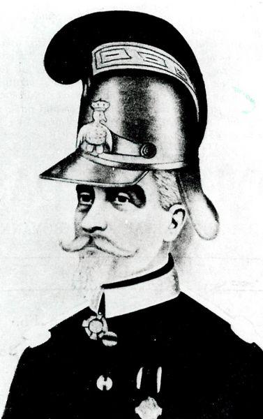Pavel Zăgănescu (1815-1897) a fost un căpitan de pompieri român, care a condus Compania de Pompieri români în bătălia din Dealul Spirii de la 13 septembrie 1848 împotriva trupelor otomane. Ziua de 13 septembrie a devenit Ziua pompierilor - foto: ro.wikipedia.org