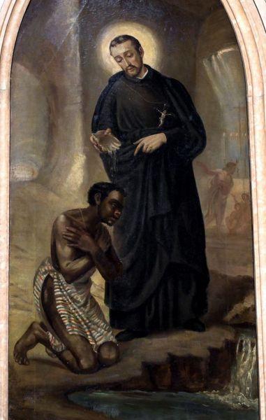 Sf. Petru Claver (n.: în 1581, Verdu, Catalonia, Spania - d.: la 8 septembrie 1654, Cartegina, Columbia)), preot, Sfânt catolic, sărbătorit la 9 septembrie - foto: sfinticatolici.ro