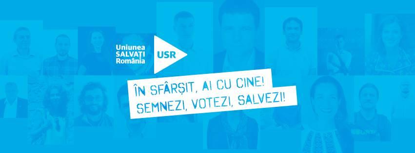 Semnături pentru Uniunea Salvați România - foto: facebook.com