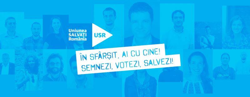 Uniunea Salvați România va candida la alegerile parlamentare din 11 decembrie 2016 dacă strângem împreună 200.000 de semnături - foto: facebook.com