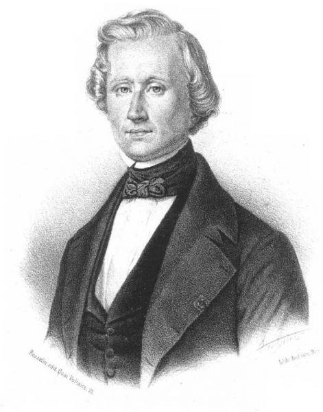 Urbain Jean Joseph Le Verrier (n. 11 martie 1811, Saint-Lô — d. 23 septembrie 1877, Paris), astronom și matematician francez, specializat în mecanică cerească - foto: ro.wikipedia.org