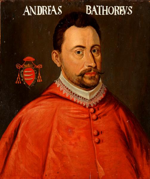 Andrei Báthory (n. 1563, Șimleu Silvaniei – d. 3 noiembrie 1599, Sândominic) a fost din 1589 arhiepiscop de Varmia, apoi, în anul 1599, principe al Transilvaniei și suzeran al Țării Românești - foto preluat de pe ro.wikipedia.org