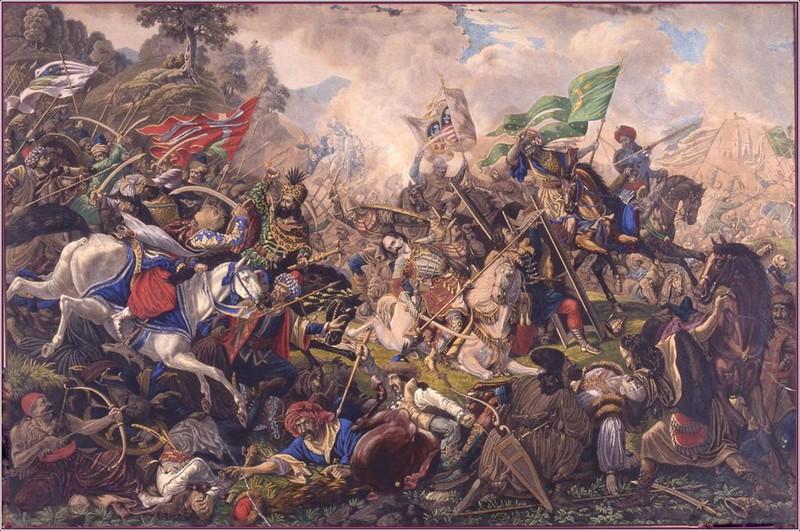 Bătălia de la Câmpul Pâinii, tablou de Ion Osolsobie - foto: ro.wikipedia.org