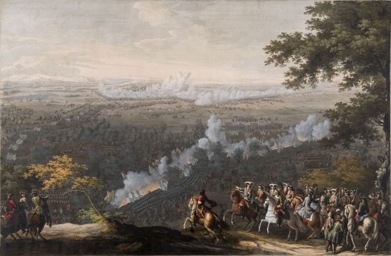 Battle of Lesnaya by Nicolas Larmessin (1722–1724) - foto: en.wikipedia.org