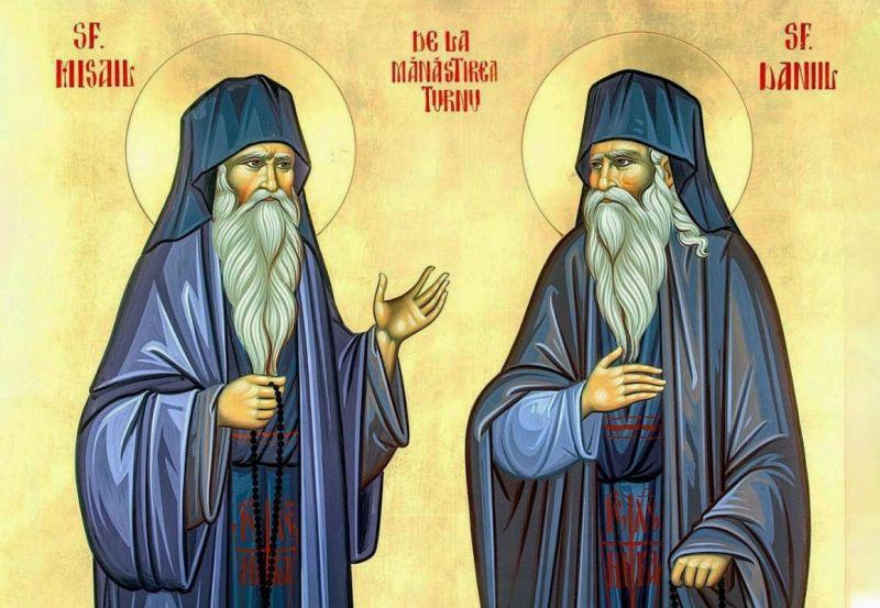 Sfinţii Cuvioşi Daniil şi Misail de la Mănăstirea Turnu (5 octombrie) - foto preluat de pe ziarullumina.ro