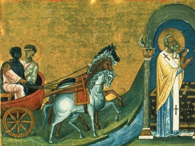 Sfântul Apostol Filip, unul dintre cei 7 diaconi (11 octombrie) - foto preluat de pe basilica.ro