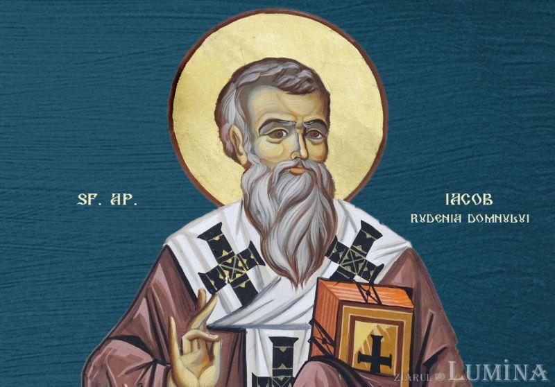 Sf. Ap. Iacob, rudenia Domnului, întâiul episcop al Ierusalimului  (†62) - foto preluat de pe ziarullumina.ro