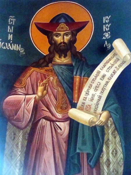 Sfântul Ioan Cucuzel. Prăznuirea sa în Biserica Ortodoxă se face pe 1 octombrie - foto: doxologia.ro