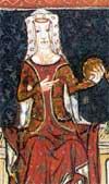 """Joan, Contesă de Kent (29 septembrie 1328 – 7 august 1385), a fost prima Prințesă de Wales engleză. Cronicarul francez Jean Froissart a numit-o """"cea mai frumoasă femeie din tot regatul Angliei și cea mai iubită"""" - foto: ro.wikipedia.org"""