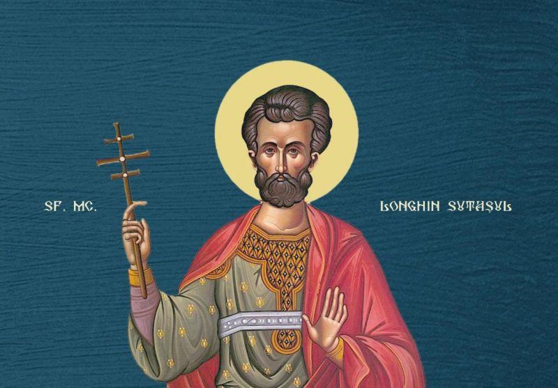 Sfântul Mucenic Longhin Sutașul (16 octombrie) - foto preluat de pe ziarullumina.ro