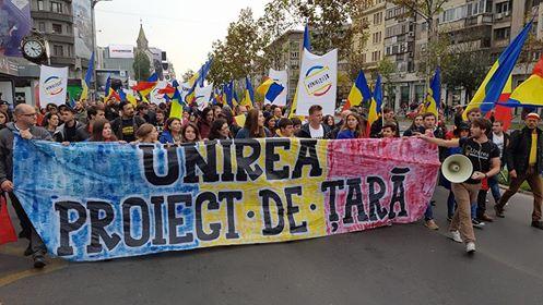 Marșul Unirii: LUPTĂ pentru Basarabia (Bucuresti, 22 octombrie 2016) - foto: Sergiu Nicolae Brega