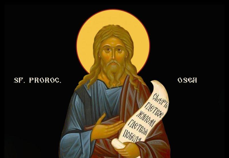 Sfântul Proroc Osea (17 octombrie) - foto preluat de pe ziarullumina.ro