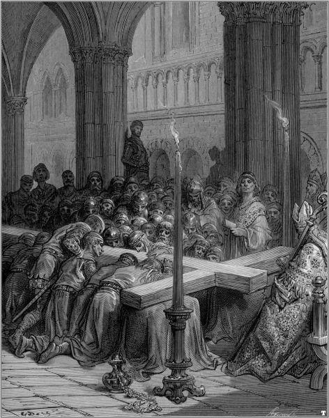 """""""Cruciații descoperă Sfânta Cruce"""" - foto preluat de pe ro.wikipedia.org"""