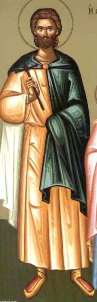Sfântul Mucenic Terentie. Prăznuirea sa de către Biserica Ortodoxă Romana se face la data de 28 octombrie - foto: doxologia.ro
