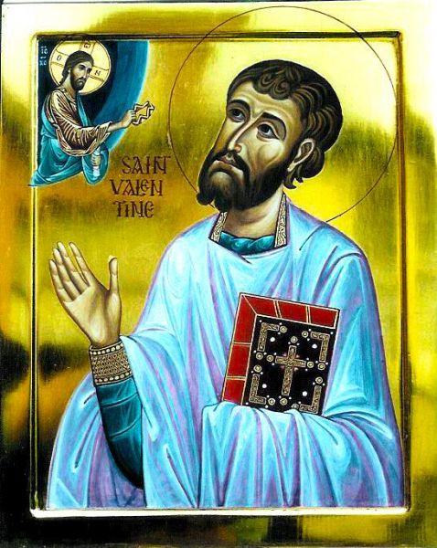 Sfântul Mucenic Valentin. Prăznuirea lor de către Biserica Ortodoxă Romana se face la data de 24 octombrie - foto: doxologia.ro