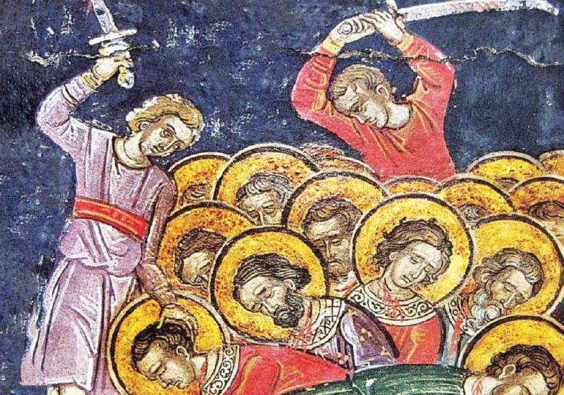 Sfinții 33 de Mucenici din Melitina (7 noiembrie) - foto preluat de pe ziarullumina.ro