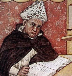 Albertus Magnus sau Albert cel Mare s-a născut în 1195, în Lauingen, Şvabia. A murit la Köln în 1280. Este unul din cei mai reprezentativi filosofi creştini ai Evului Mediu, călugăr dominican realist, profesor al lui Toma din Aquino şi al lui Pedro Hispano, viitor papă Ioan al XXI-lea - foto: ro.wikipedia.org