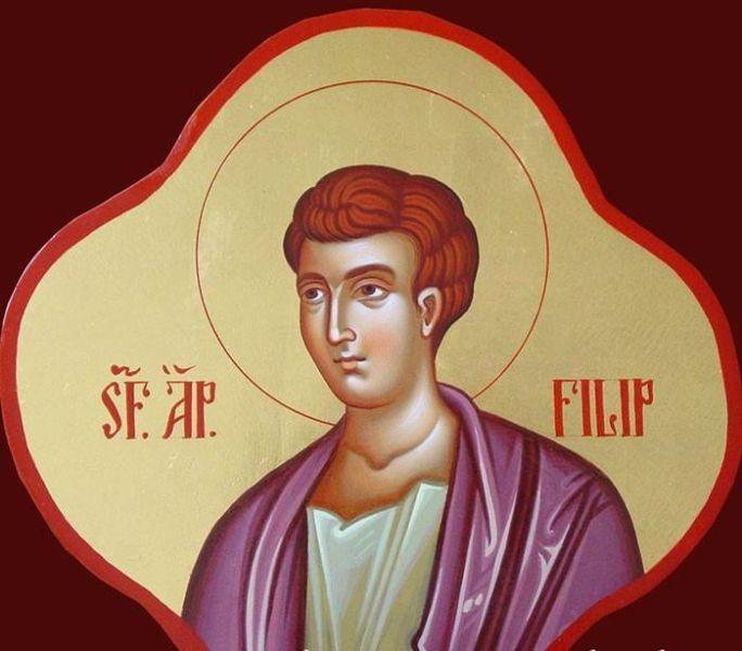 Sf. Ap. Filip, unul dintre cei 12 Apostoli (†80 d.Hr.) - foto preluat de pe basilica.ro