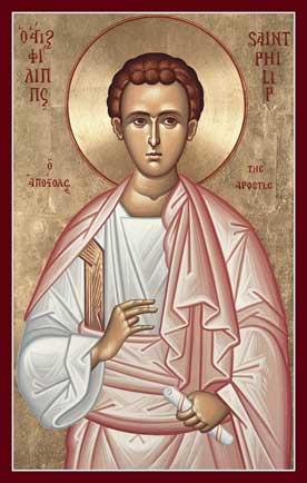 Sf. Ap. Filip, unul dintre cei 12 Apostoli (†80 d.Hr.) - foto preluat de pe ro.orthodoxwiki.org