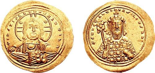 Constantin al VIII-lea Porfirogenet (n. 960 – d. 11 noiembrie 1028) a fost împăratul Bizanţului din 15 decembrie 1025 până la moartea sa. Fiu al împăratului Romanos al II-lea şi al împărătesei Theophano, a fost fratele mai mic al eminentului împărat Vasile al II-lea, care a murit fără copii şi astfel a lăsat conducerea Imperiului Bizantin în mâinile sale - foto: ro.wikipedia.org