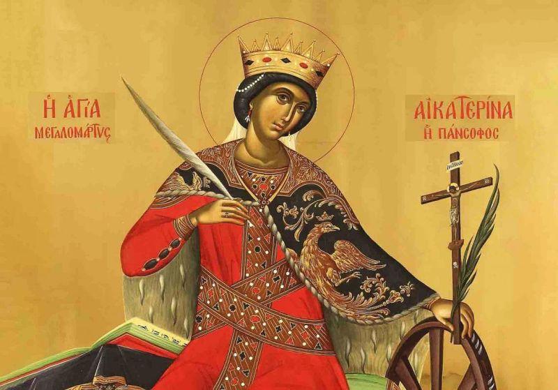 Sfânta Mare Mc. Ecaterina (287 - 305) - foto preluat de pe ziarullumina.ro
