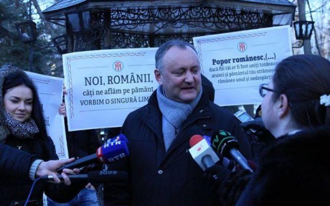 Cine îl întoarce pe Dodon cu faţa spre România? - foto: adevarul.ro