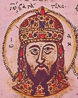 Sfântul și dreptcredinciosul Ioan Duca al III-lea Vatațis cel Milostiv, a fost împărat al Imperiului Roman de Răsărit (Bizantin) între 1221-1254. A fost un puternic apărător al credinței ortodoxe; fiind trecut în rândul sfinților, prăznuirea lui se face la data de 4 noiembrie - in imagine, Ioan Duca al III-lea Vatațis Portret dintr-un manuscris din sec. XV - foto: ro.orthodoxwiki.org