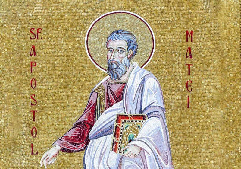 Sfântul Apostol şi Evanghelist Matei (†74 d.Hr.) - foto preluat de pe ziarullumina.ro