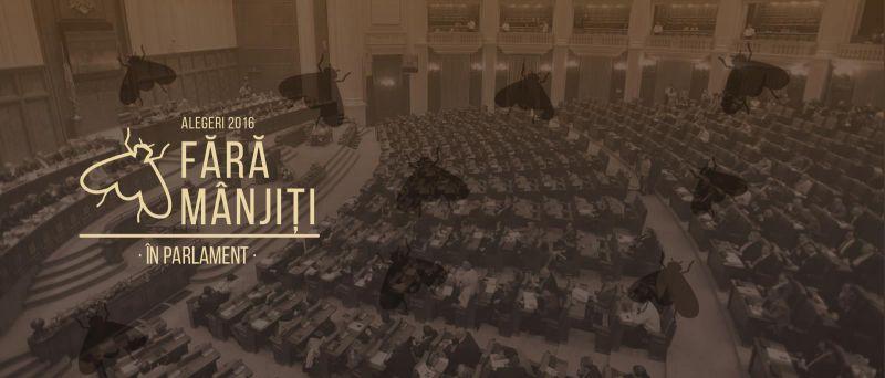 Alegeri 2016 - Fără mânjiți în parlament - foto: de-clic.ro
