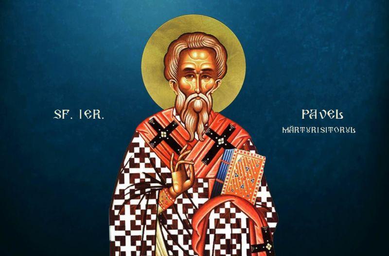 Sf. Ier. Pavel Mărturisitorul, patriarhul Constantinopolului (6 noiembrie) - foto preluat de pe ziarullumina.ro