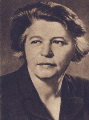 Ana Pauker, născută Hanna Rabinsohn, (n. 28 decembrie 1893, Codăeşti, Vaslui – d. 3 iunie 1960, Bucureşti) a fost o militantă şi politiciană comunistă româncă, evreică de origine - foto: ro.wikipedia.org