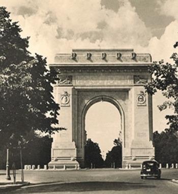 Arcul de Triumf din București - foto: cersipamantromanesc.wordpress.com