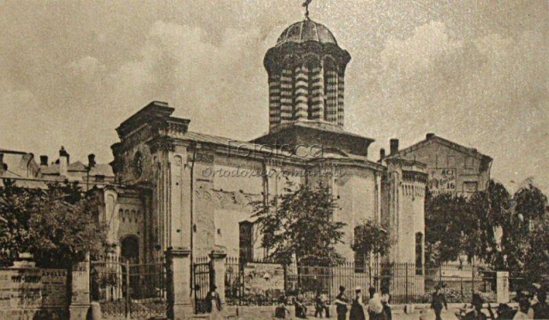 Biserica Curtea veche – Sfântul Anton din Bucureşti - foto preluat de pe basilica.ro