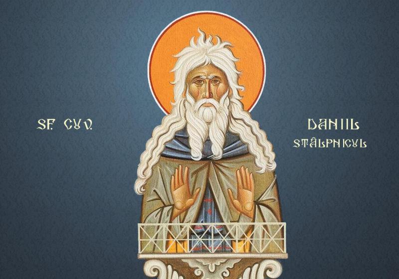 Sf. Cuv. Daniil Stâlpnicul (409-490/93) - foto preluat de pe ziarullumina.ro
