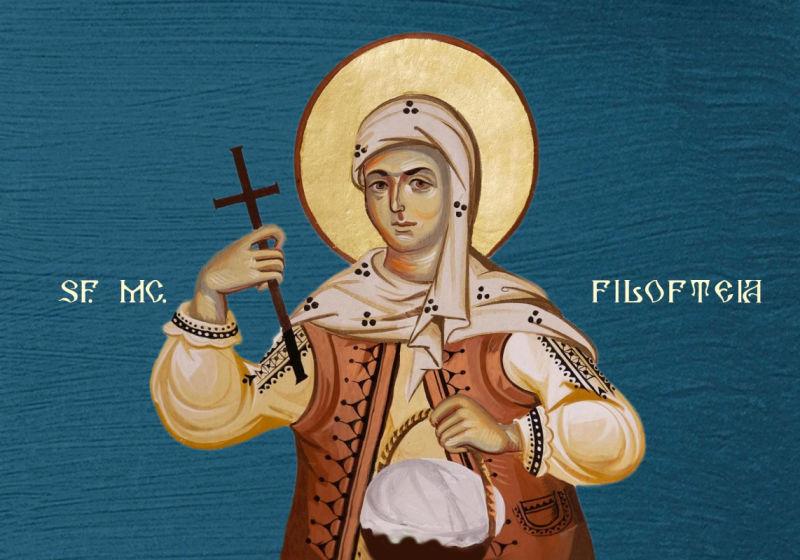 Sfânta Muceniță Filofteia de la Curtea de Argeș (1206 - 1218) - foto preluat de pe ziarullumina.ro
