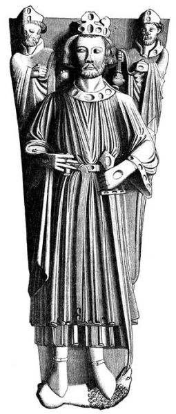 Ioan (John) Plantagenetul (24 decembrie 1166 – 19 octombrie 1216) a fost rege al Angliei din 6 aprilie 1199 până la moartea sa (19 octombrie 1216) - in imagine, Tomb effigy of King John, Worcester Cathedral - foto: en.wikipedia.org