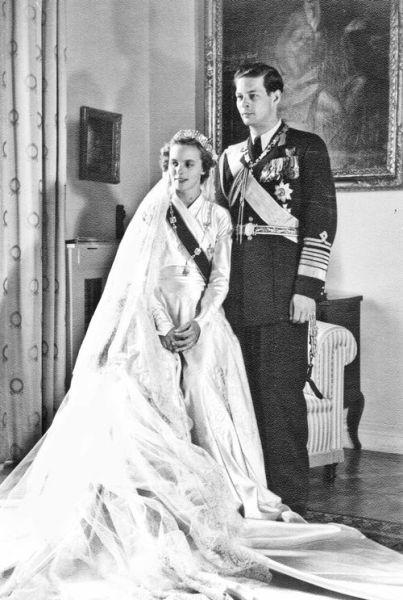 Regele Mihai I și Ana de Bourbon-Parma (1948) - foto preluat de pe ro.wikipedia.org
