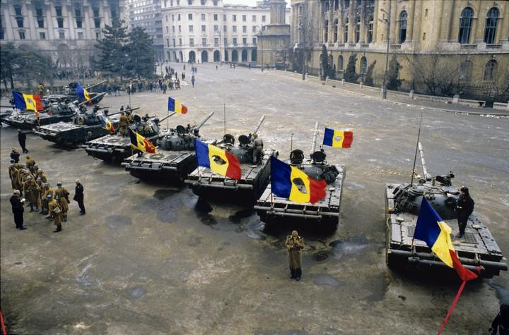 Revoluția Anticomunistă din România (16 - 25 decembrie 1989) - foto: Andrei Pandele (preluat de pe: blog.f64.ro