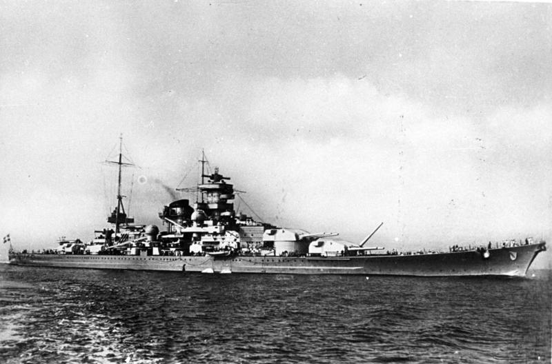 German battleship Scharnhorst - foto: en.wikipedia.org