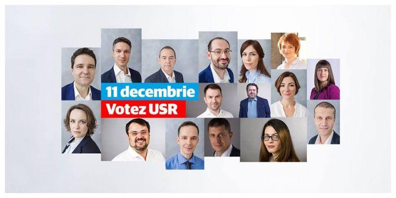 Votez! Votez USR! Salvez România! - foto: facebook.com