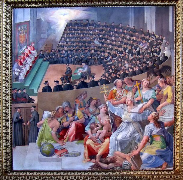 The Council, depicted by Pasquale Cati (Cati da Iesi) - foto: en.wikipedia.org/wiki