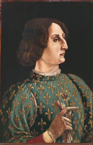 Galeazzo Maria Sforza (24 ianuarie 1444 – 26 decembrie 1476) a fost Duce al Milano din 1466 până la moartea sa. A fost cunoscut pentru cruzime, tiranie şi desfrânare - foto preluat de pe ro.wikipedia.org