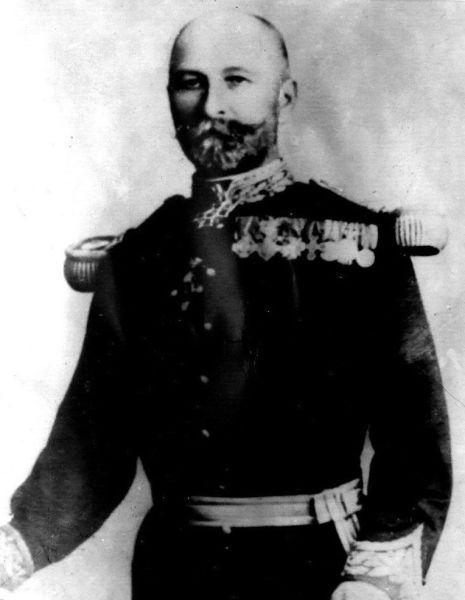 Gheorghe Teleman (n. 22 octombrie 1838, Iași - d. 4 iulie 1913, Huși) a fost un general și om politic român - foto preluat de pe ro.wikipedia.org