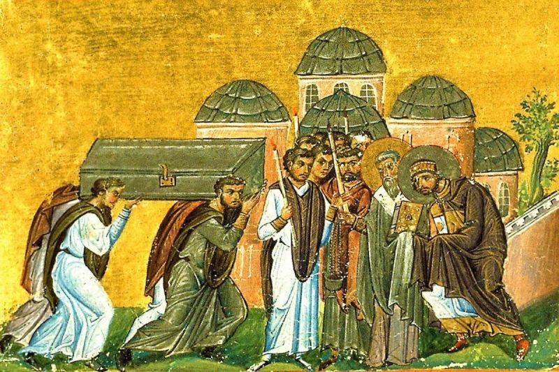 Aducerea moaștelor Sfântului Ierarh Ioan Gură de Aur (27 ianuarie 438) - foto preluat de pe ziarullumina.ro