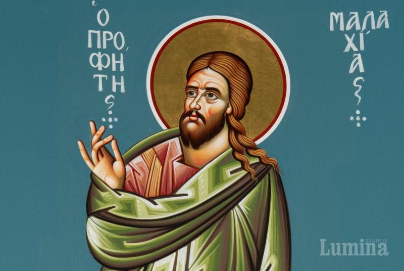 Sf. Proroc Maleahi (Secolul al V-lea î.Hr.) - foto preluat de pe ziarullumina.ro