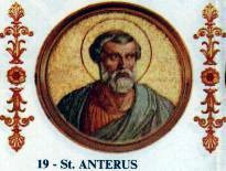 Pope Anterus (died 3 January 236) - foto: en.wikipedia.org