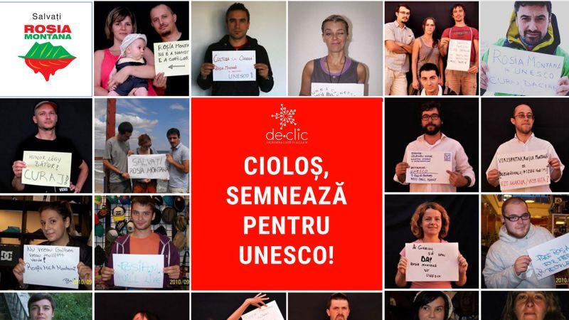 Roșia Montană: Nominalizarea la UNESCO în pericol - foto: facebook.com