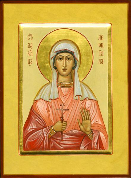Sfânta Muceniță Neonila. Pomenirea sa de către Biserica Ortodoxă se face la 16 ianuarie - foto: doxologia.ro